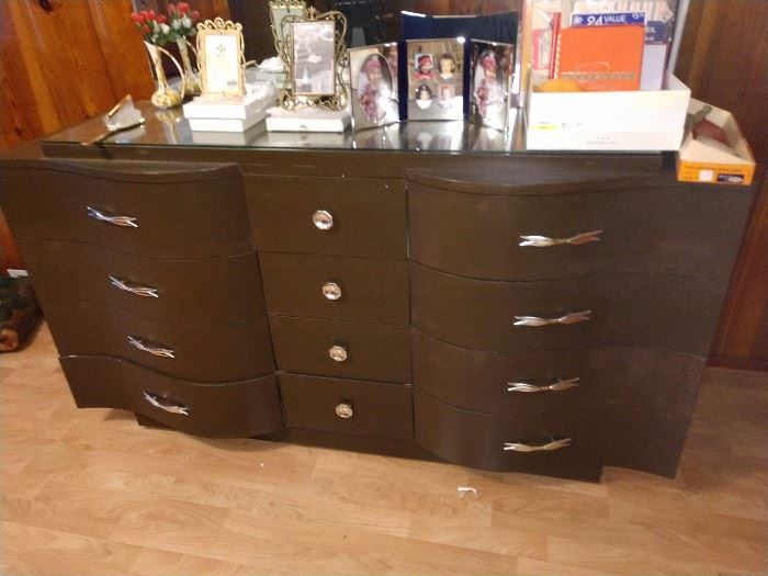 Kent Coffey PAINTED Dresser $20. Bring help. I make $6 so we are not helping carry it down the stairs!