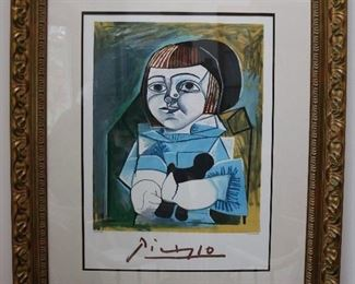Picasso Limited ed. offset lithograph