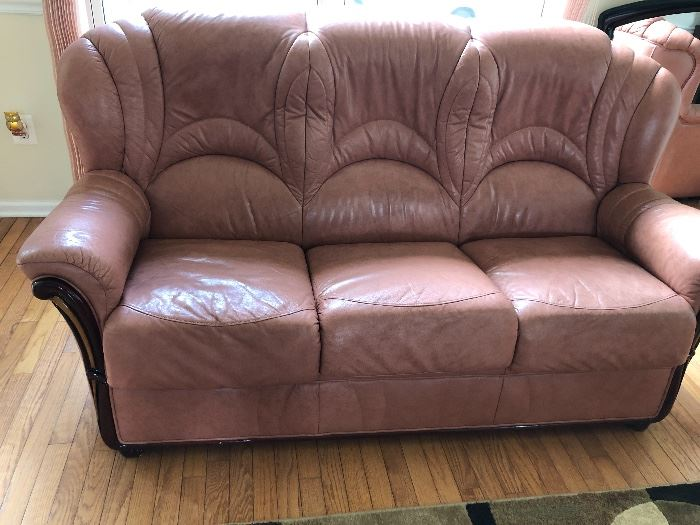 LEATHER SLEEP SOFA