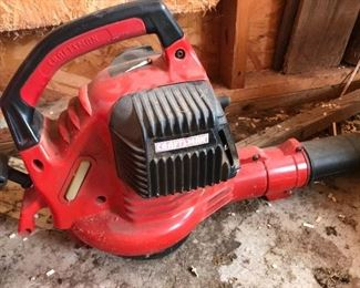 Craftsman gas blower with attachments