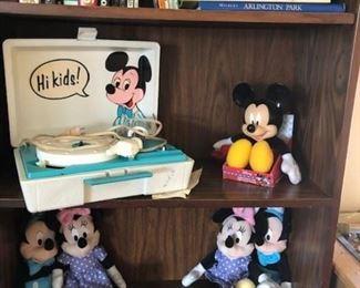 Mickey memorabilia