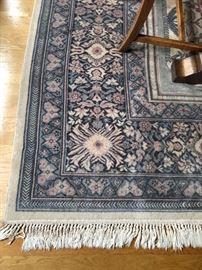 closer view of the carpet