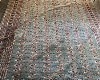 pakistan Bokhara rug Huge Measurements to come $1400 OBO