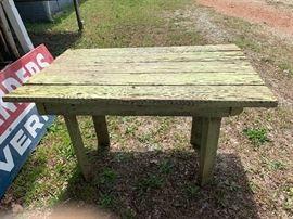Wonderful primitive table