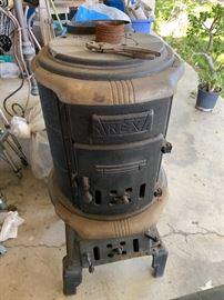 Rex wood burning stove.
