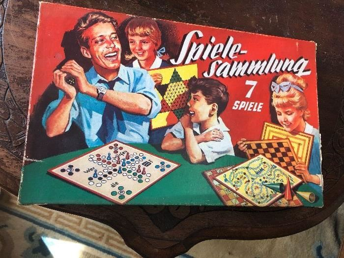 Fun vintage German board game for the whole family