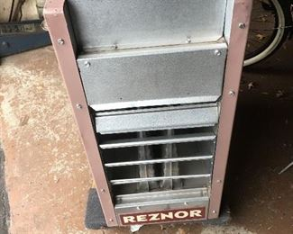 2500 btu Natural Gas Heater can be converted to Propane.