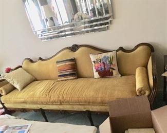 Louis XVI provincial sofa