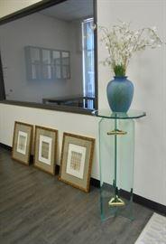 Contemporary Glass Podium