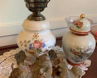 Jade 30  Japanese urn Satsumi $30