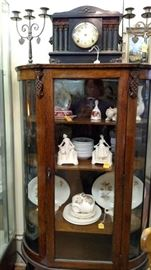 China Cabinet........(Candelabra SOLD)