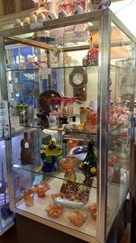 Great Display Case.....(Carnival Glass-SOLD)
