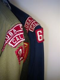 Vintage boy scout uniforms