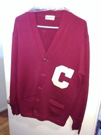 Chico State varsity sweater 1950's