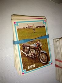 Vintage chopper collector cards