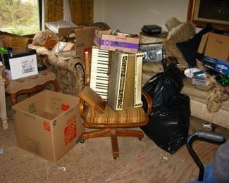 Accordion, furniture