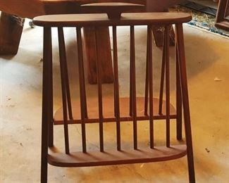 Umanoff MCM record magazine rack  BUY IT NOW $ 200.00 OBO