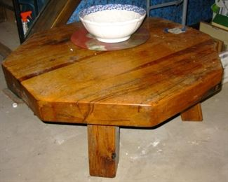 solid wood coffee table BUY IT NOW $ 165.00