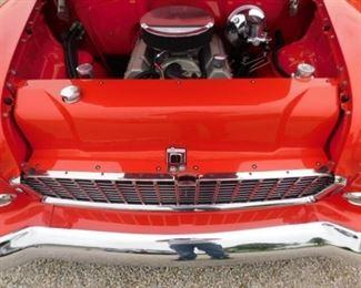 1955 two-door Chevrolet Belair hardtop in Pristine condition. Reserve is 80,000 with a 3% buyers premium