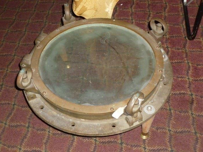 Porthole Window made into Table