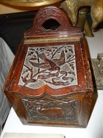 Awesome copper lined box