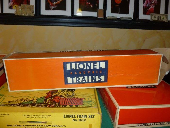 More NIB Lionel Trains