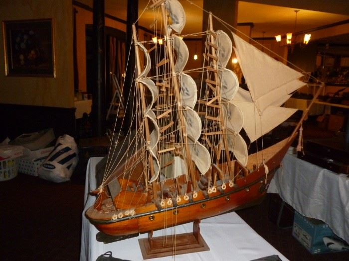 Neat old wood ship