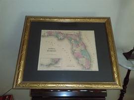 1861 Florida Map