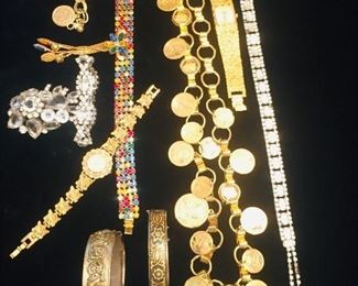 Mrs. Segura was a very elegant lady and we have tubs of her vintage quality costume jewelry