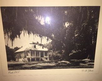 "1978 lithograph by D K Gleason-- ""Creole"""
