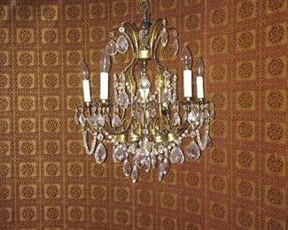 One of four chandeliers