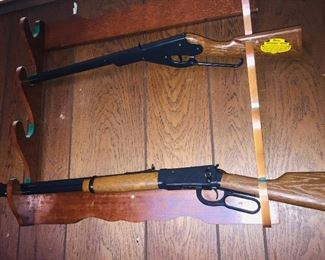 Vintage Daisy Model 1894 and Model 102 BB guns