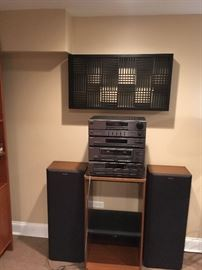 sony HST 221                             check out black art work above....