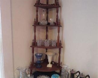 Victorian corner Shelf