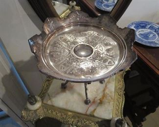 Inside Top of Victorian Tazza