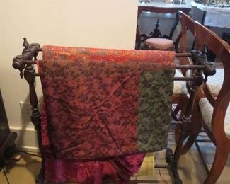 Super Victorian Quilt Rack Fancy Spindles and Turnings
