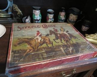 Nice Steeple Chase Game Late 1800s