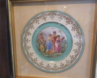 1 of 2 framed plates