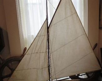 Super Antique Sail Boat Large