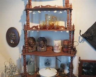 Abraham Lincoln Bookends Busts, Lincoln Wall Plaque, Haviland Tureen, New Light Up Candles, Early Civil Ware Engravings