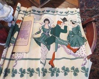 Unusual Crete Paper Irish Design circa 1920s