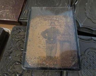 Tin Type of Union Soldier