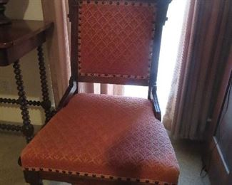Victorian Side Chair East Lake Style