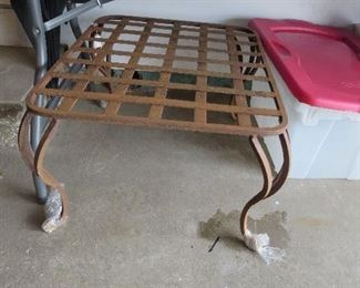 Cast Metal Patio Table