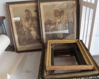 Victorian Frames and Prints
