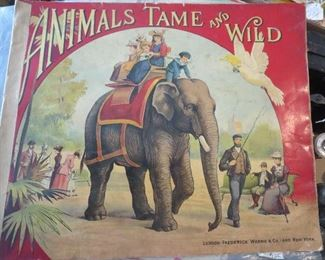 Childs Book Animals Tame and Wild  Great Illustrations