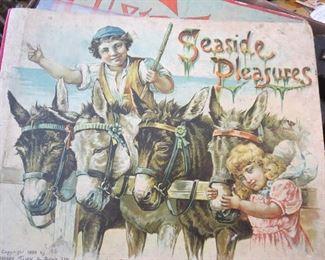 Seaside Pleasures a Father Tucks Book, a Bit Rough but Wonderful