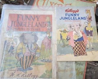 Kellogg Funny Land Jungle Books Different Years