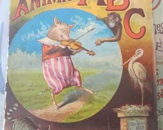 Great ABC Book the Jolly Animal