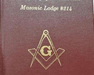 Thomasville N.C. Masonic Lodge History Book
